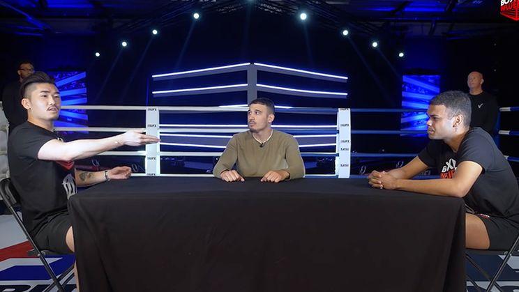 Hanwe en Joey Craig krijgen ruzie bij Face Off Boxing Influencers