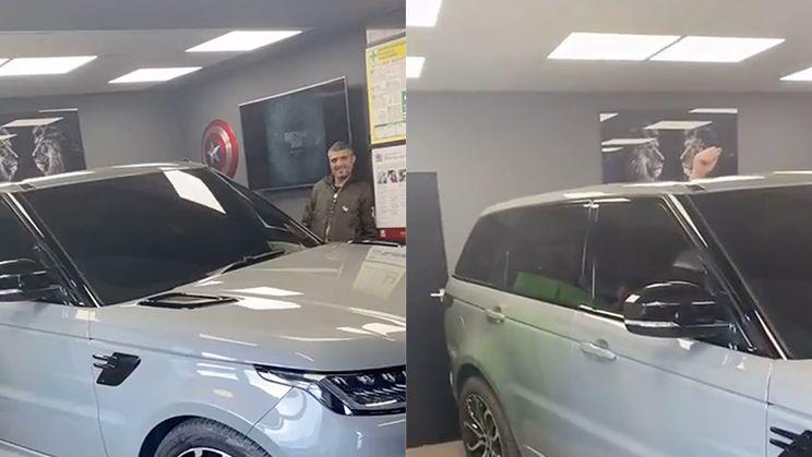 """Nieuwe Range Rover gekocht, maar """"Wait for it"""""""