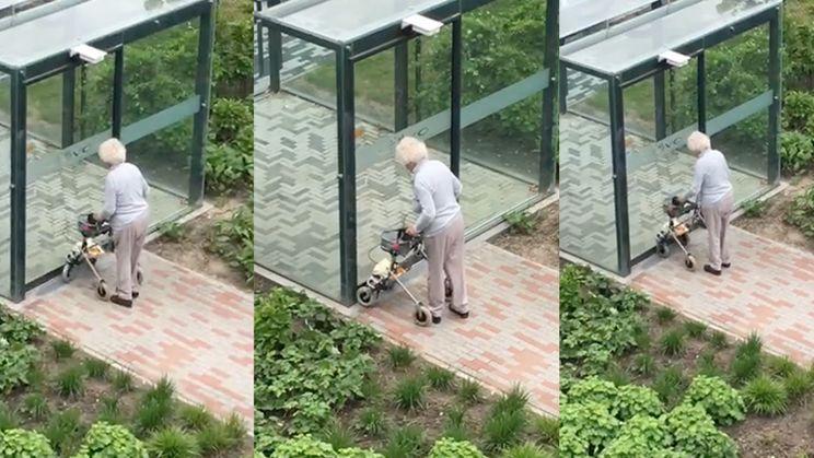 Oma in bejaardenhuis in Zierikzee snapt het even niet meer...