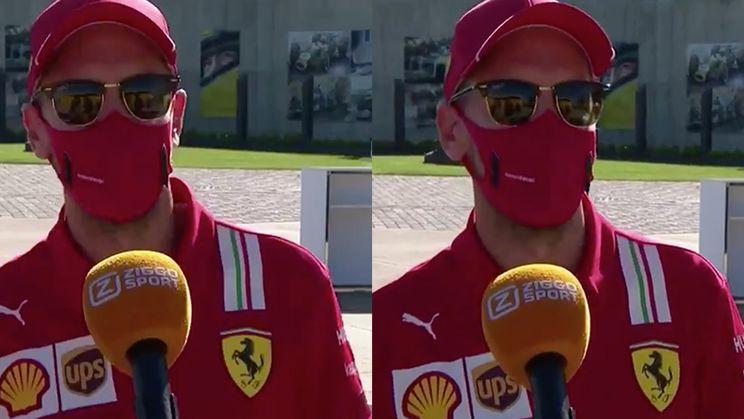 Sebastian Vettel spreekt een aardig woordje Nederlands
