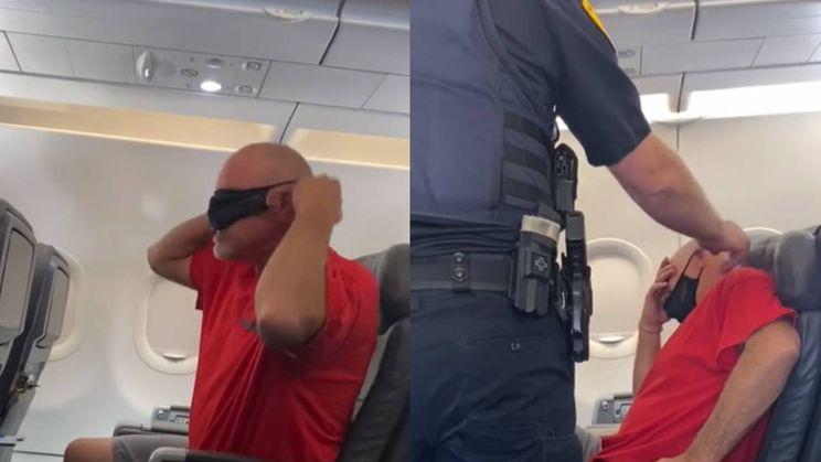 Kevin ging niet alleen vliegen, maar mocht ook mee in de politieauto