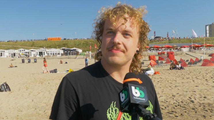 """Ondertussen op Zandvoort: """"Are you from Germany?"""""""