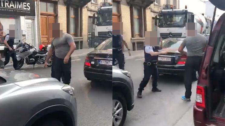 WTF: Politie aangevallen met krik in Molenbeek, agente loopt hersenschudding op