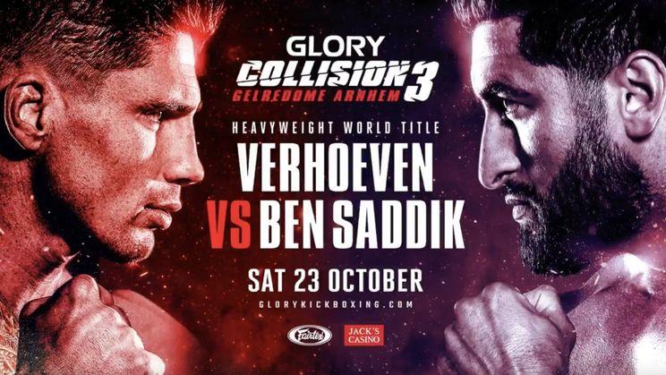 Loop alvast warm voor Collision 3: Rico Verhoeven vs Jamal Ben Saddik