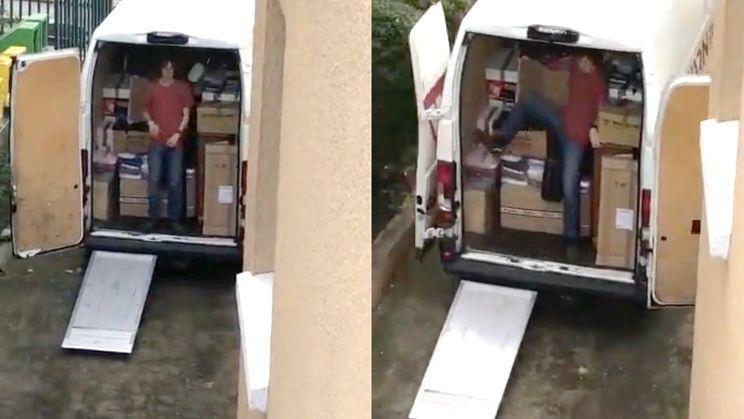 Inladen verhuiswagen gaat helemaal FOUT!