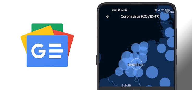 Coronavirus: Google Nieuws toont kaart en statistieken van België