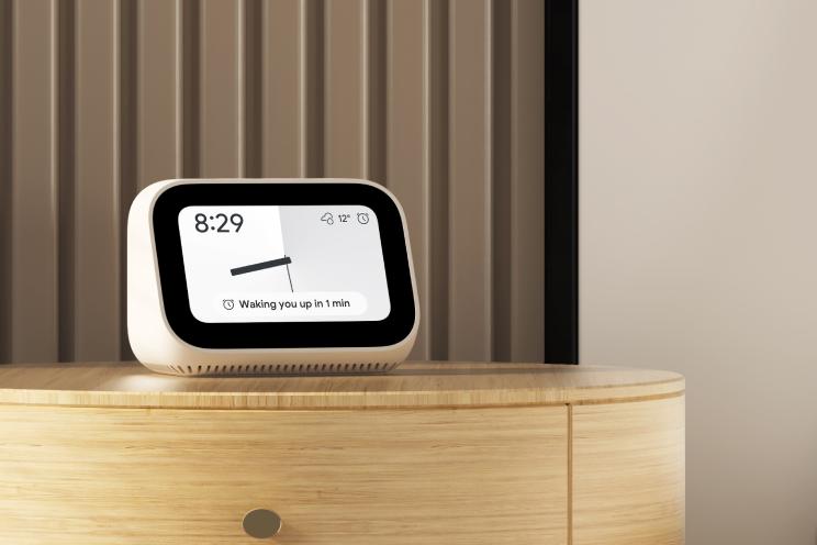 Xiaomi Mi Smart Clock officieel: kleine smart display met Chromecast