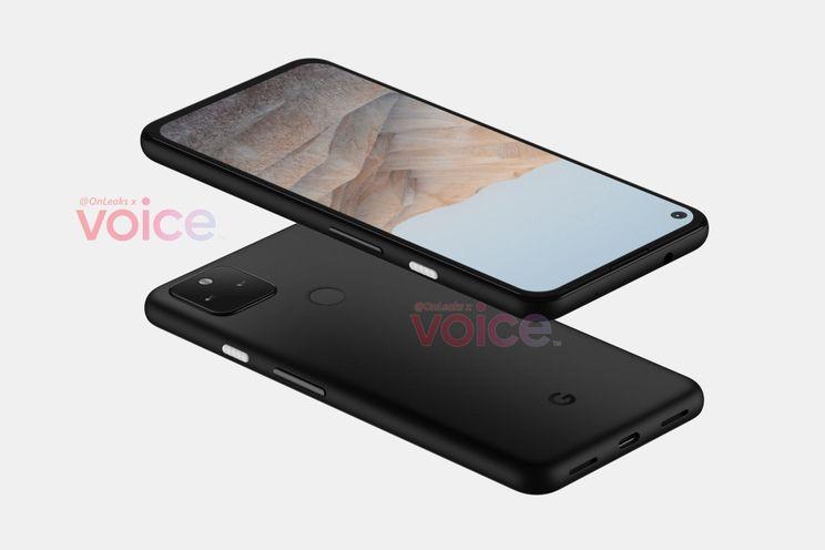 'Google publiceert per ongeluk eerste foto van de Pixel 5a'