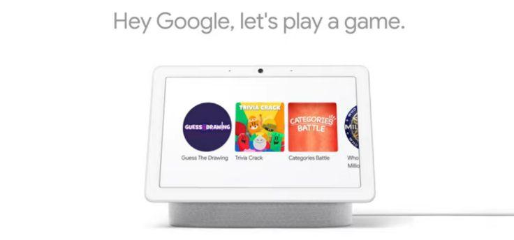 Google Nest Hub: speel nu games op het scherm van je smart display