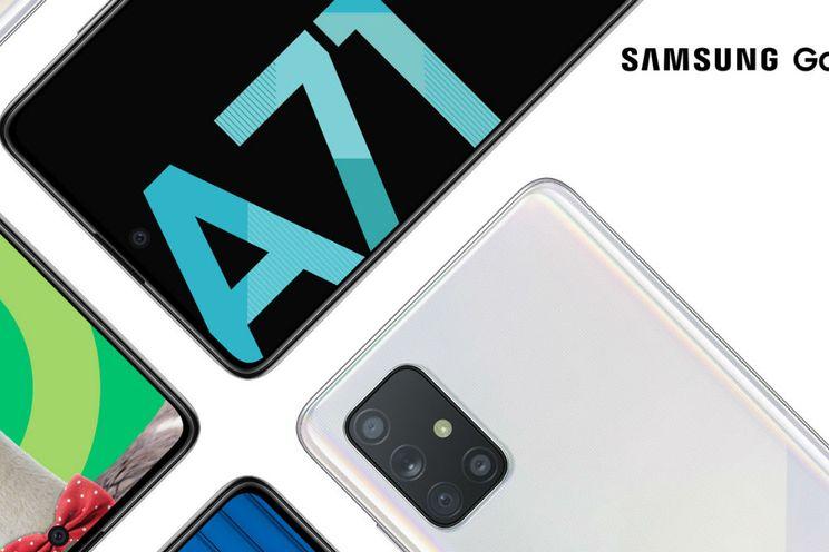 Samsung Galaxy A71 ontvangt One UI 2.5-update in Nederland