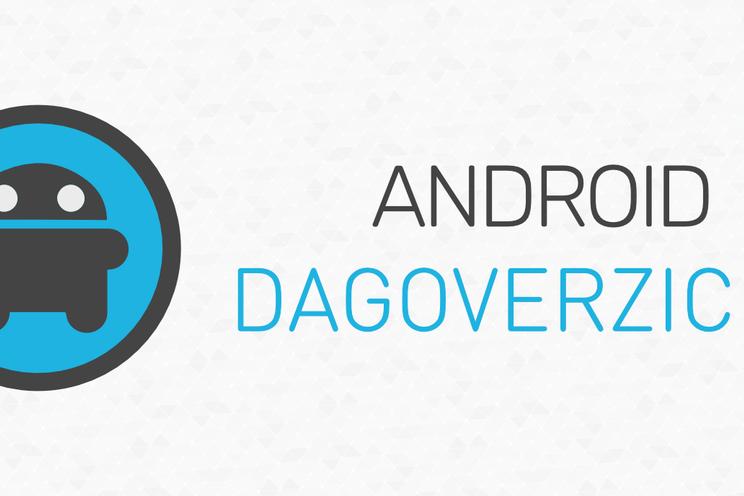 Android Dagoverzicht zaterdag 24 oktober 2020