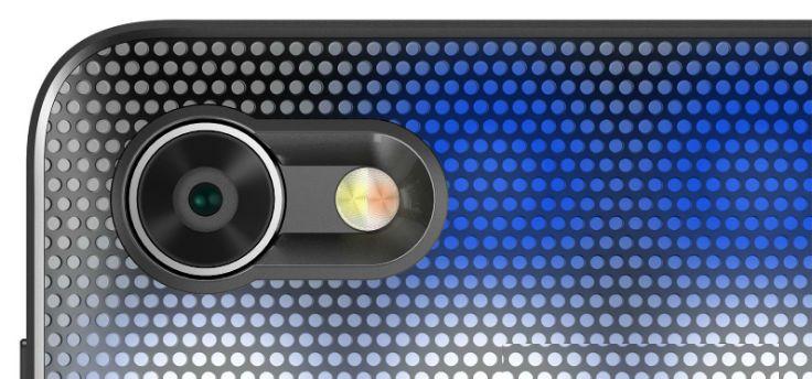Bijzondere vouwbare telefoon met uitvouwbaar toetsenbord duikt op in video