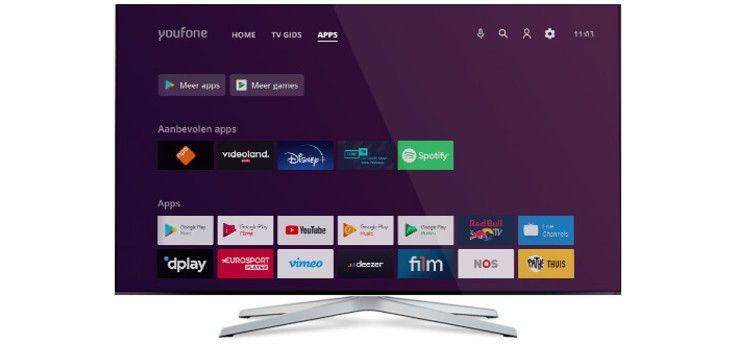 Youfone lanceert eerste tv-decoder met Android TV in Nederland