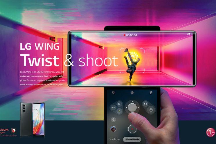 LG Wing komt op 13 november naar Nederland voor 1099 euro