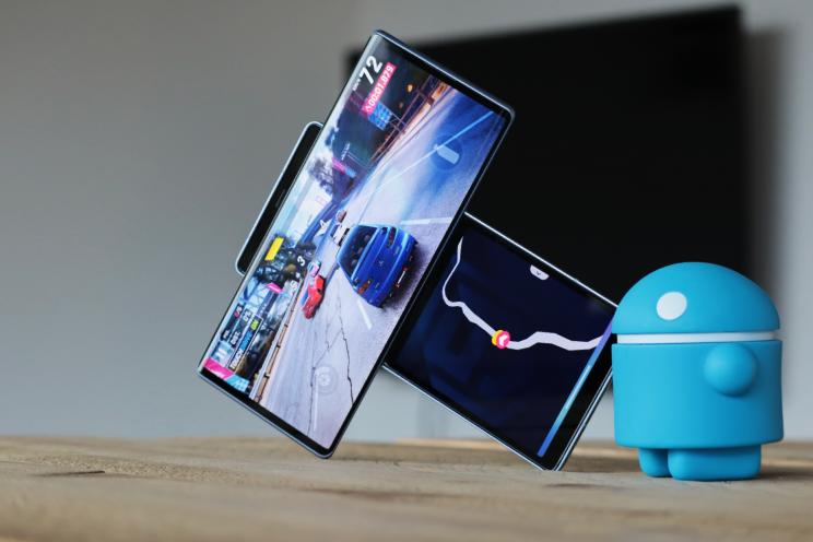 LG Wing hands-on:  is deze telefoon met twee schermen een hoogvlieger?