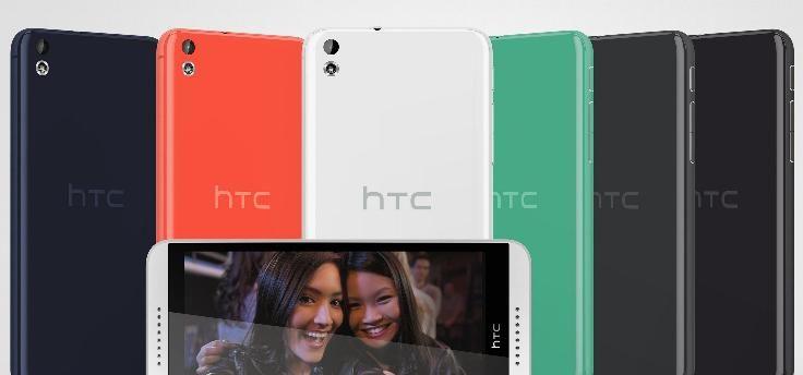 HTC Desire 610 en Desire 816 vanaf nu verkrijgbaar