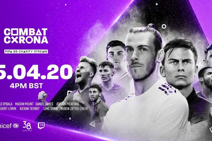 Combat Corona: profvoetballers spelen FIFA 20 in strijd tegen corona