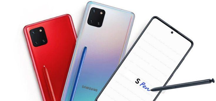 Samsung Galaxy Note 10 Lite: kost 609 euro, renders en specs gelekt