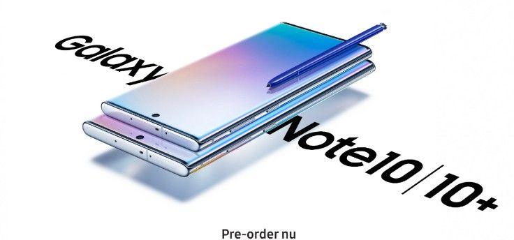 ADV: Pre-order de Samsung Galaxy Note 10 bij MediaMarkt en ontvang €100 extra inruilvergoeding
