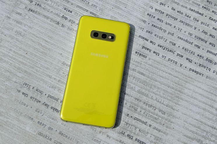 Samsung Galaxy S10e review: kleine krachtpatser