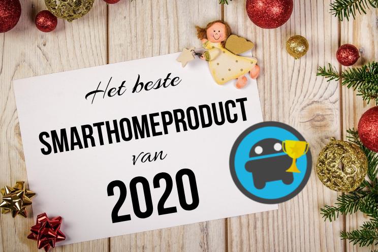 Wat was het beste smarthomeproduct van 2020, breng je stem uit