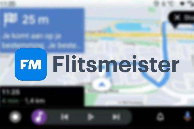 Flitsmeister voor Android Auto te zien in video, lancering bètaversie bekend