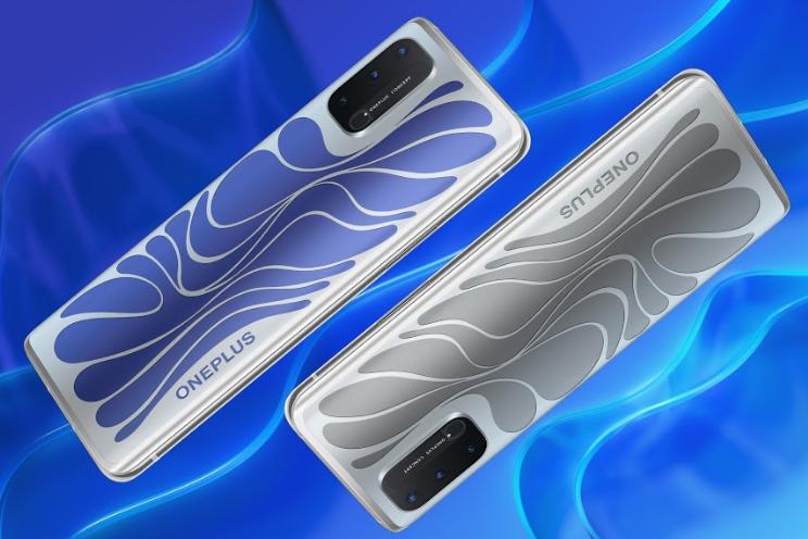 OnePlus 8T Concept: telefoon met glas dat van kleur verandert