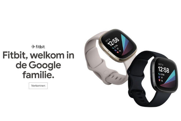 Fitbit vanaf nu officieel deel van Google, dit moet je weten