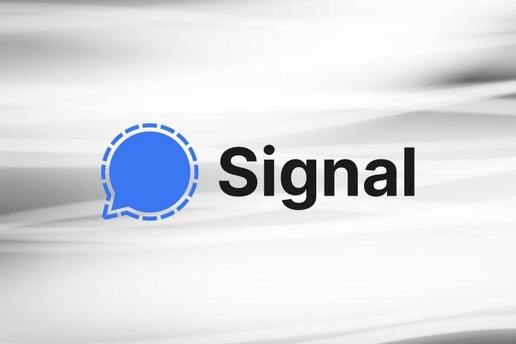 Signal test betaaldienst met cryptomunten, zo werkt het