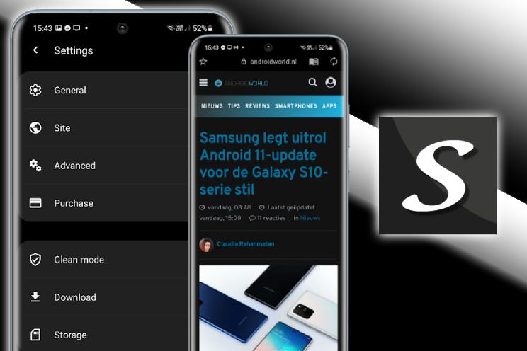 Soul Browser is minimalistisch van design met rijke functies