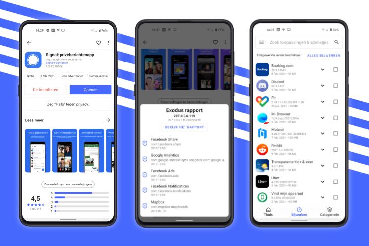 Dit Play Store-alternatief toont welke gegevens apps verzamelen