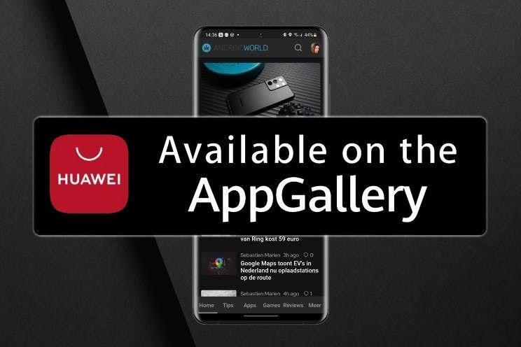 AW Reader staat nu ook in de Huawei AppGallery