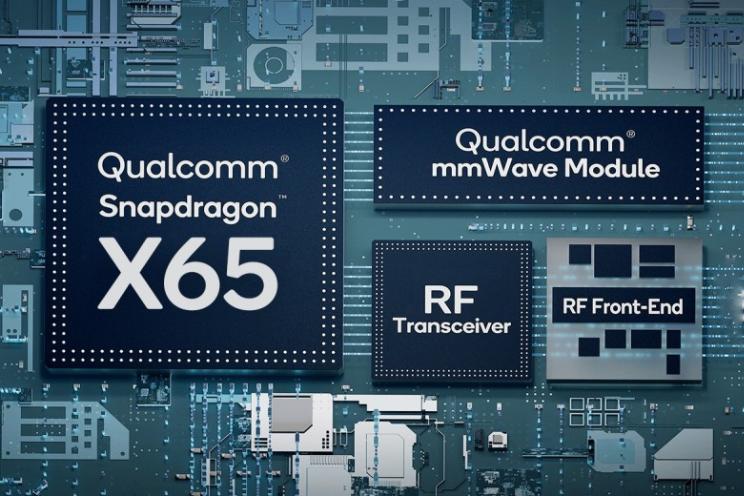 Snapdragon X65-modem maakt 5G next-level, snelheid tot 10 Gbps