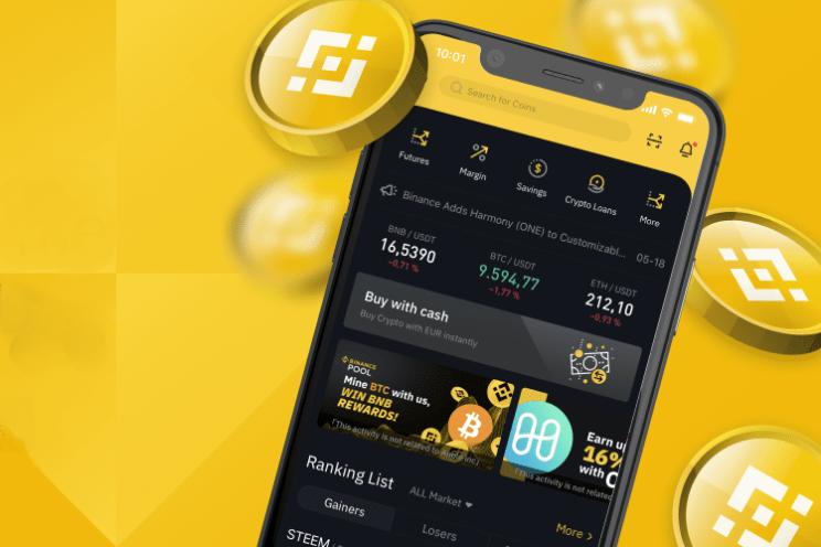 Binance is een veilige en handige app om crypto te kopen