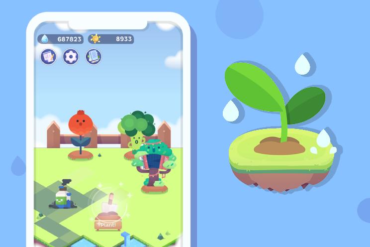 Afgeleid door je smartphone? Gebruik de gratis Focus Plant-app