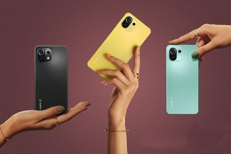 Xiaomi Mi 11 Lite (5G) officieel: midrange telefoons met 90 Hz AMOLED-scherm