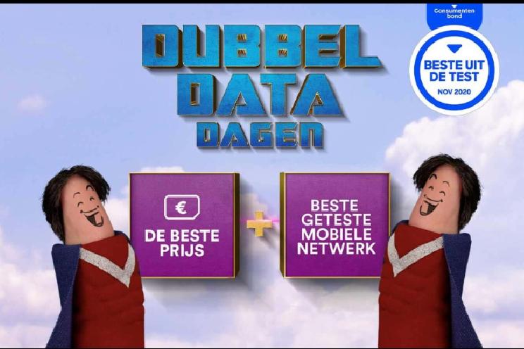 Dubbele Data Dagen bij Simpel, 10GB + onbeperkt bellen voor € 10 (ADV)
