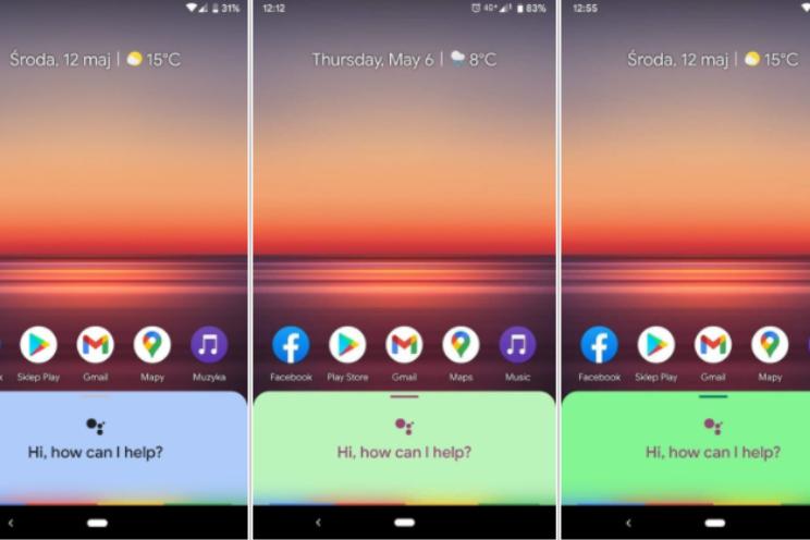 Google Assistent met kleurrijke interface en 'Mijn acties' gespot