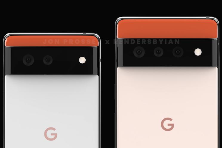 Google Pixel 6 en Pixel 6 Pro gelekt: radicaal nieuw design