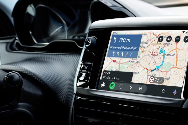 Nieuw in Android Auto: Waze verbeterd, games en werkprofielen