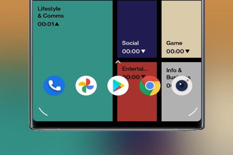 Deze OnePlus-wallpaper zorgt ervoor dat je je telefoon minder gebruikt