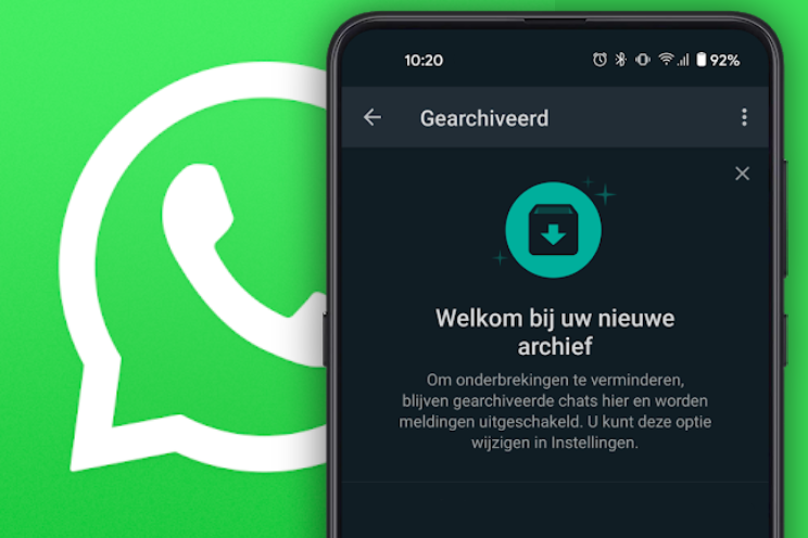 WhatsApp rolt nieuwe Archief uit voor chats, zo werkt het