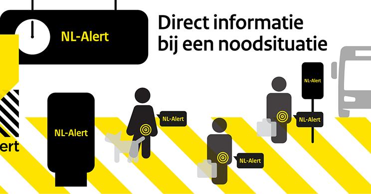 NL-Alert testbericht om 12.00 uur: 5 vragen beantwoord