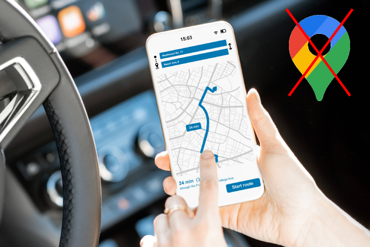 6 beste Google Maps-alternatieven: kaart- en navigatie-apps
