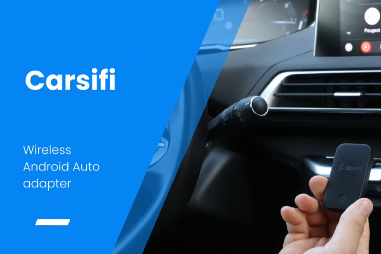 Carsifi maakt Android Auto draadloos, verbindt met 2 telefoons