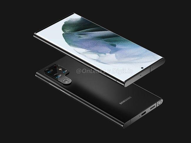 Samsung Galaxy S22-reeks: gelekte renders van alle toestellen