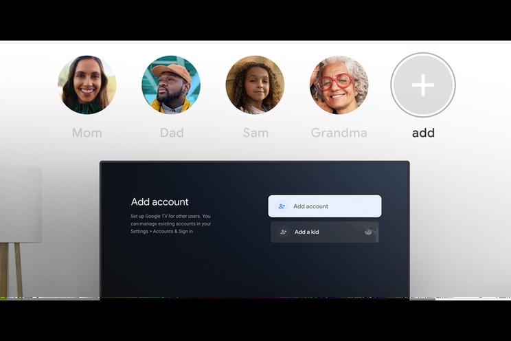 Google TV krijgt eindelijk gebruikersprofielen