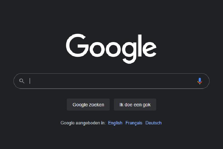 Zo zet je het donkere thema aan in Google Zoeken