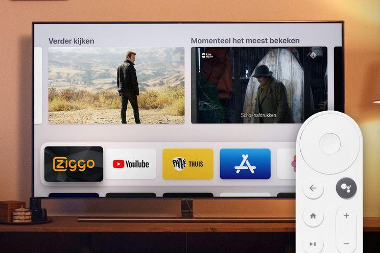 Ziggo biedt Chromecast met Google TV aan voor tweede tv