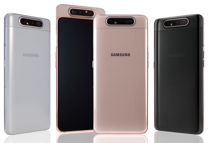 Aanbieding: Samsung Galaxy A80 met roterende camera voor 260 euro